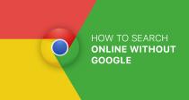 Cách tìm kiếm trực tuyến khi không có Google