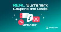 Phiếu giảm giá Surfshark 2021: Tiết kiệm 85% với giảm giá độc quyền này!